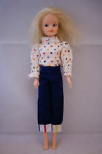 Hasbro SINDY doll My First in Beach Part blouse outfit 80's