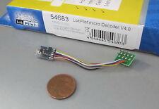 ESU 54683 LokPilot 4.0 DCC/MM  Digital Decoder micro 8 pol. Stecker