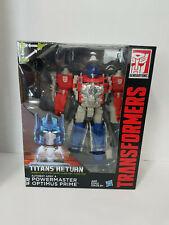 Powermaster Optimus Prime Transformers Titans Return New MISB Hasbro