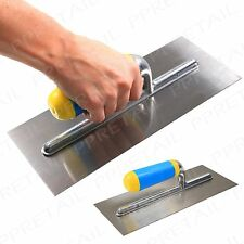 """Plasterers Float Decorator Render 11"""" Hand Tool Flat Smooth Wall Trowel Cement"""