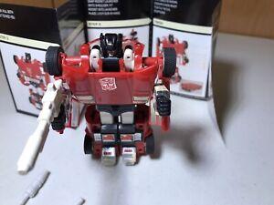 1985 Transformers G1 Sideswipe Autobot lamborghini Countach 80s orig booklet