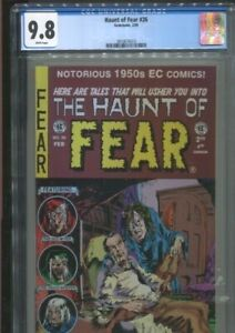 HAUNT OF FEAR 26 (1999) GRAHAM INGELS COVER BEST & ONLY CGC NEAR MINT/MINT 9.8