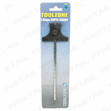 """Stainless Steel DEPTH GAUGE 0-150mm/6"""" Measure Height Guage Rule Thickness Long"""