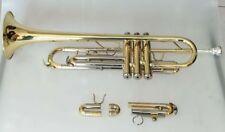 Professional trumpet Bb/C key Professional Yellow brass body +case
