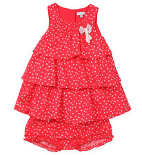 ABSORBA ROBE + CULOTTE ROUGE 3 MOIS PRIX BOUTIQUE 49,90 €