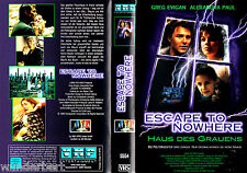 "VHS - "" Escape to NOWHERE ( House of the Dannati ) "" (1996) - Alexandra Paul"