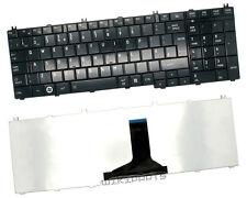 Toshiba Satellite C650 C660 C660D C665 Laptop keyboard UK Black