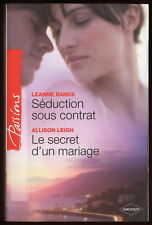 Livre HARLEQUIN..Collection PASSIONS...n° 241..2 Romans