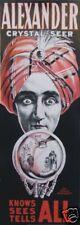 Poster Zauberei Magic Alexander 2 World greatest Master