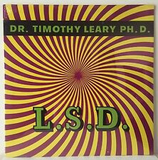 L.S.D. Dr. Timothy Leary Ph.D. SEALED Original Mono 1966 Pixie Records LP