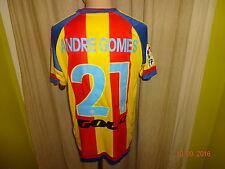 "Valencia C.F. Adidas Heim Trikot 2015/16 ""ohne Sponsor"" + Nr.21 Andre Gomes Gr.M"