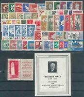 DDR,Jahrgang 1960, Michel 60€, pracht
