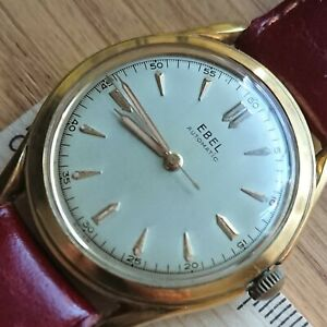 Vintage EBEL  Automatic- Bumper, 35mm, Leather Strap, Men's Watch