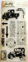 The Journey Stamp Set Car & Truck Clear Stamps by Tim Holtz Stampers Anonymous