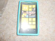 Nokia Lumia 920 Silicon case Hülle blau