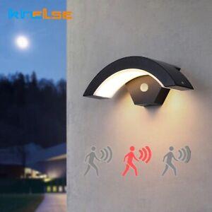 20W Waterproof Wall Lamp PIR Motion Sensor Outdoor LEDPorch Sconce Garden Light