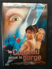 DVD le couteau sous la gorge - Thriller - Brigitte Lahaie et Florence Guerin