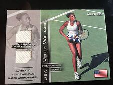 2003 Venus Williams NetPro International Series Match Worn Clothing Card 270/500