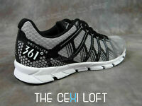 Mens 361Running Shoes Sneakers NOCTI LITE Grey and Black # 1015101099007