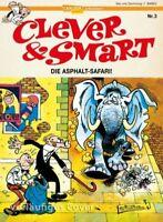 Clever & Smart # 3 Die Asphalt-Safari ( Carlsen Verlag ) NEUWARE
