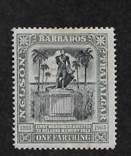 Barbados Scott # 102 F-VF Mint Hinged*OG ,nice color ! (BC-1)