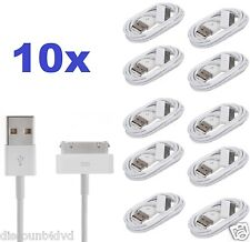 10x Charging lead USB charger data cable for iPhone 3G 3GS 4 4S iPod Touch iPad