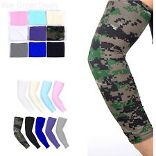 9 Pairs Cooling Arm Sleeves Uv Sun Protection Outdoor Sports Arm Sleeve Cover