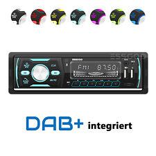 DAB+ Autoradio RDS AM FM Bluetooth Freisprecheinrichtung 2x USB SD AUX 1 DIN MP3