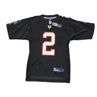 Matt Ryan #2 Atlanta Falcons Reebok Mens Small Black White Red NFL Jersey