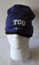 7b68d4d973c NWT Nike TCU Horned Frogs Sideline Training Beanie One Size Purple MSRP 32