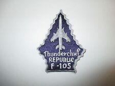 b5510 USAF US Air Force Republic Thunderchief F 105 Vietnam purple & gray IR21B