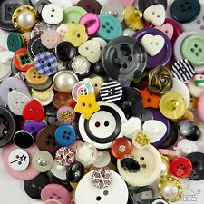 50pcs bulk mixed plastic Buttons Lot scrapbook embellishment craft cards sewing