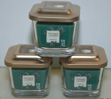 Yankee Candle Elevation Collection Frosted Fir Jar Candle 3.4 oz NEW Lot of 3