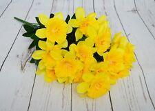 Artificial Spring Daffodil Bush x 18 stems Easter Spring