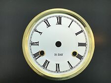 """6 5/8"""" Metal Dial for 31 Day Clock in White Color"""