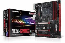 Gigabyte GA-AB350-Gaming 3 AMD Ryzen Socket AM4 ATX Motherboard DDR4 M.2 RGB LED