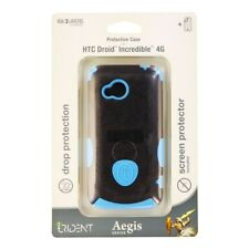 Trident Aegis Series Dual Layer Case for HTC Droid Incredible 4G - Black / Blue