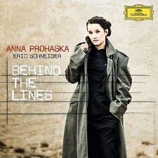 Anna/Schneider, Eric Prohaska-Behind the Lines CD NUOVO