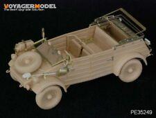 PE para la segunda guerra mundial alemán Kubelwagen tipo 82 (para Kit Tamiya), 35249, Voyagermodel