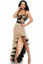 Formal Halterneck Dresses Plus Size for Women
