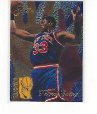 1994-95 FLAIR BASKETBALL REJECTORS INSERT PATRICK EWING #1 OF 6 - KNICKS