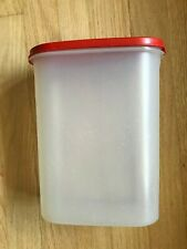 Tupperware Modular Mates 9-3/4 cup Oval 4 #1614 With Red Seal