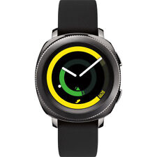 Samsung Gear Sport Android Smart Watch with Bluetooth & Water Resistant in Black