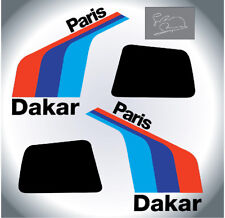 BMW R80G/S GS Paris Dakar adesivi sticker/aufkleber/autocollant with Rahier sign