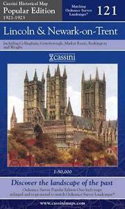 Lincoln & Newa(Cassini Popular Ed.Historical Map)(Sht.map,2007)NEW.End Of Stock!