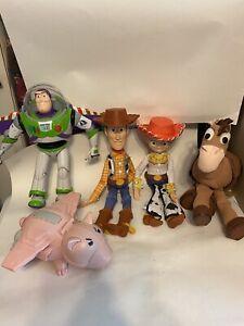 Disney Pixar Thinkway Action Figure Toy Story   5 Piece Set