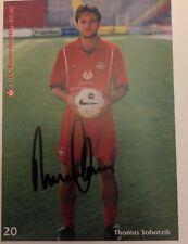 Autogrammkarte Thomas Soborzik Org. signiert 1999 / 2000 1. FC Kaiserslautern