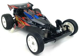 Tamiya Neo Falcon 1/10 Scale RC Buggy DT-02 58401 Air Flow As Is
