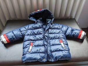 Warm Boys Hooded Coat Jacket Children Toddler Kids Outerwear 12-18 month 80-86cm
