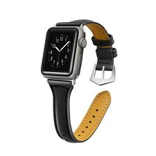 2018 New Leather Wrist Watch Band Strap Bracelet for iWatch Apple Watch 38/42mm